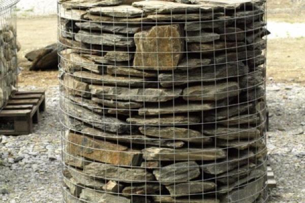 Łupek szarobrązowy murowy