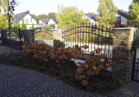 ogrodzenie łupek gnejs